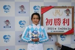 210526 神尾香澄騎手 初勝利-14