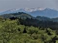 蔵王の山脈