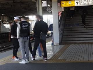 2021年3月27日拝島駅構内