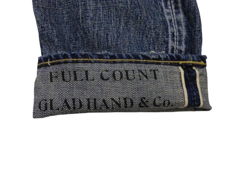 GLAD HAND×FULLCOUNT 1111 SLIM STRAIGHT VINTAGE FINISH