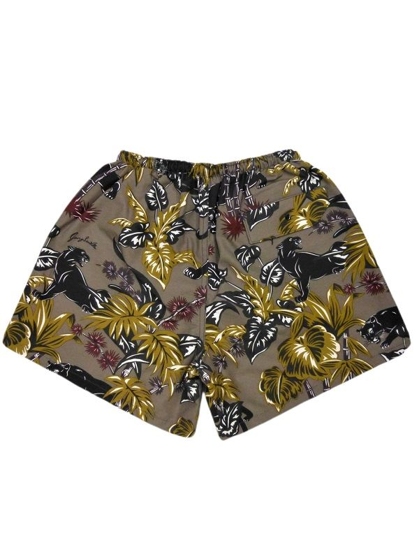 GANGSTERVILLE JUNGLE PANTHER-BUGGY SHORTS
