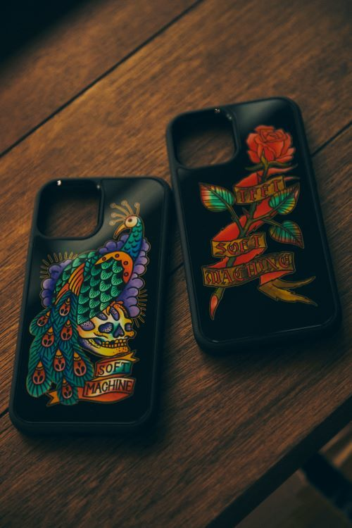 SOFTMACHINE ROSE iPhone CASE PEACOCK iPhone CASE
