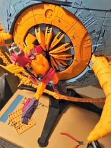 Hasbro社クラウドファンディング商品】トランスフォーマー WAR FOR CYBERTRON ユニクロン プラネットモード (52