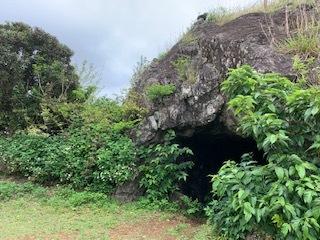 軍 洞窟跡