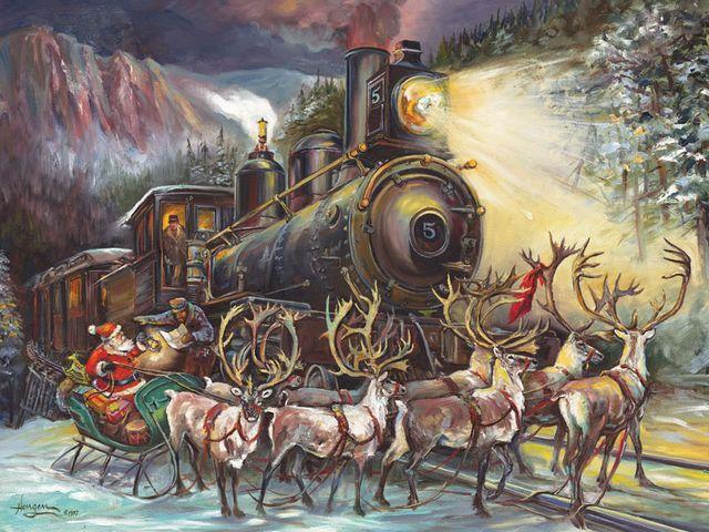 Santa-Asking-for-Directions-Polar-Express-by-Nona-Hengen.jpg