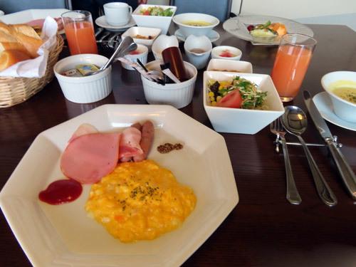 玉響の風の洋朝食