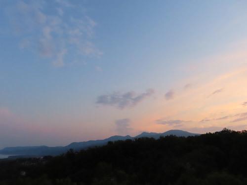 玉響の風からの夕日