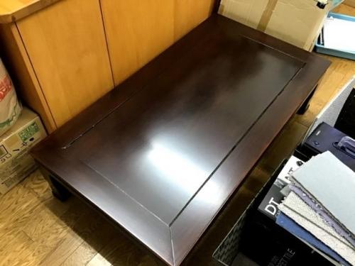 リフォーム後のローテーブル