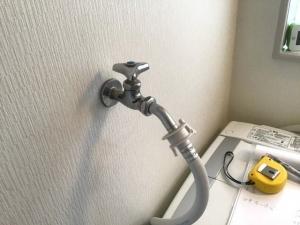 既存の洗濯蛇口