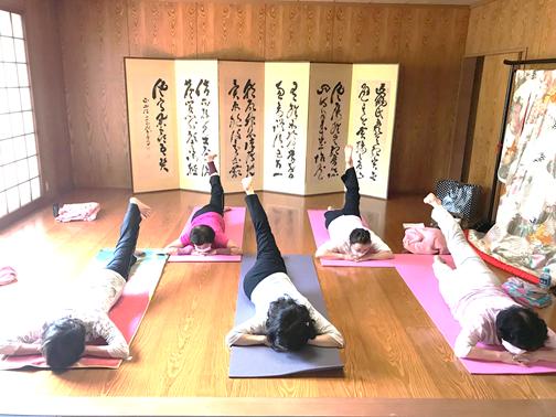 京都ヨガ 銀閣寺クラス