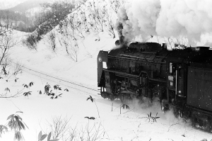 IMG-0036雪の中のC622のみ