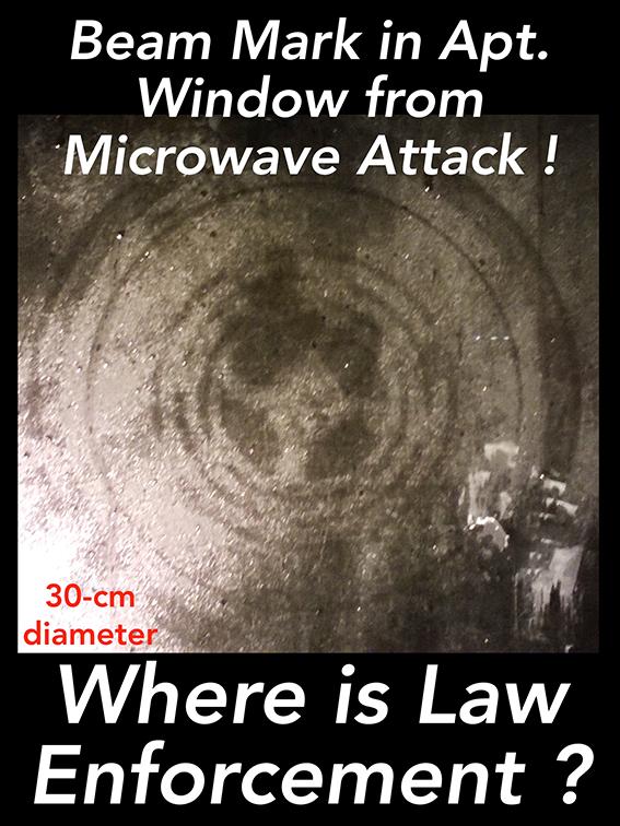 パルスマイクロ波兵器跡