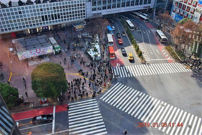 渋谷駅上空