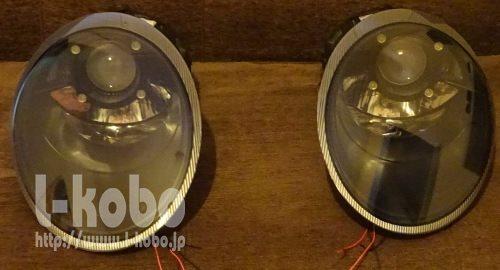 ポルシェ911ヘッドライト1