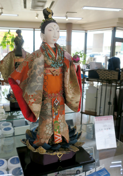 人形作家 大田登美枝さんの人形展示 令和3年7月