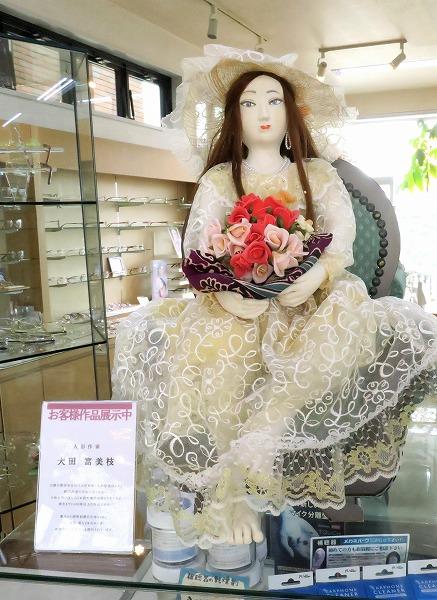 人形作家 大田登美枝さんの人形展示 令和3年10月
