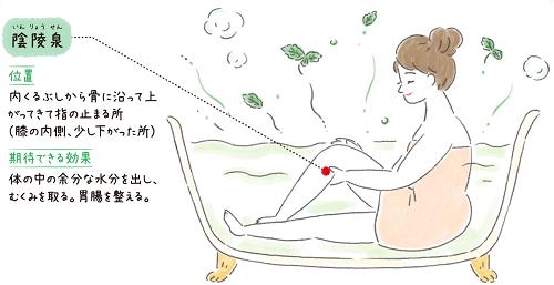 養命酒 facebook ツボ 女性 鍼灸 2021 陰陵泉2