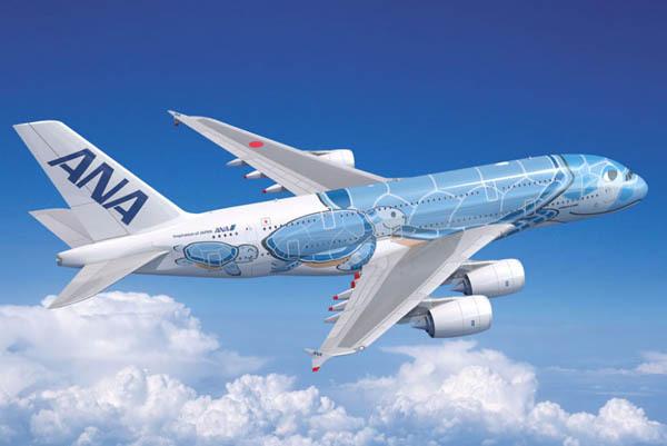 ANAは、ホノルル線へのエアバスA380再投入を発表、8月に2往復!