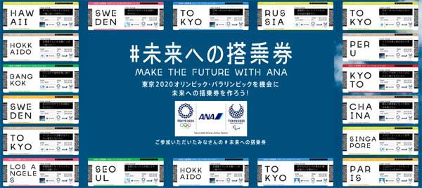 未来への搭乗券を作ろうキャンペーン