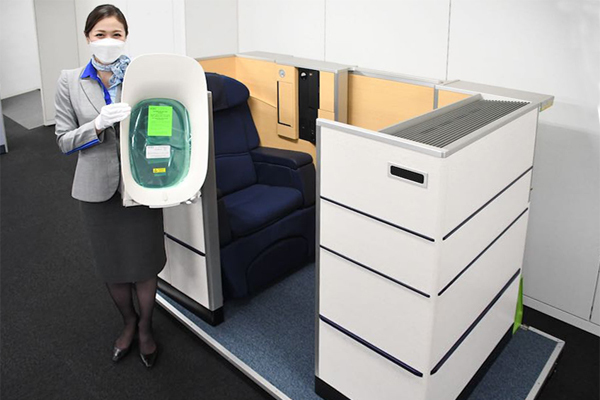 ANAは、777-300ERファーストクラスを「ヤフオク!」に出品、入札開始価は7,730円!!