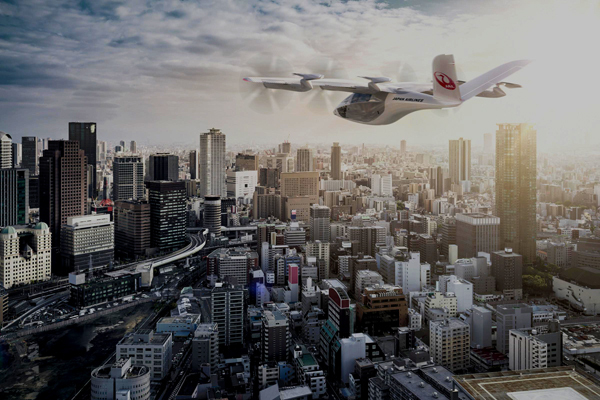 JALは、アボロンとのパートナーシップを締結、垂直離着陸機「VA-X4」を最大100機導入!