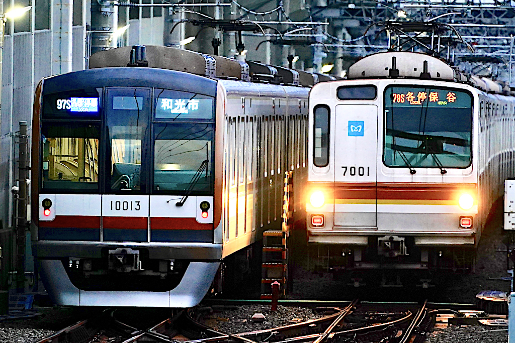 210703 tmetro 10013 7001 shinkiba1