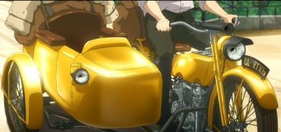 高橋博行たかはしひろゆきアニメーター京アニKyoto AnimationSound! Euphonium!響け! ユーフォニアム小物楽器メカ設定金管楽器けいおん!BanG Dream!ヴァイオレット・エヴァーガーデン外伝Violet EvergardenC.H郵便社ベネディクトのバイクBenedicts Motorcycle