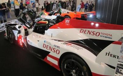 トヨタ・TS050 HYBRID (Toyota TS050ハイブリッド TOYOTA GAZOO RacingS.ブエミ/中嶋一貴/B.ハートレイ3,700ccV8NA2,400ccV6直噴ツインターボ24 heures du Mansル・マン24時間耐久レースFIA世界耐久選手権TGR#タミヤフェア2018taniya fairツインメッセ静岡