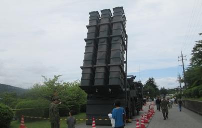 12式地対艦誘導弾(12SSM)陸上自衛隊富士学校富士教導団特科教導隊第6中隊88式地対艦誘導弾システム(改)