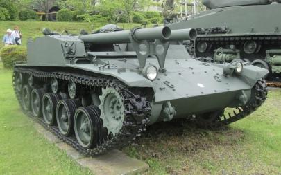 60式自走106mm無反動砲106SP小松製作所60式26口径106mm無反動砲×2普通科連隊陸上自衛隊富士学校