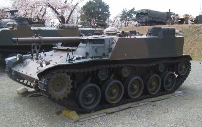 60式自走106mm無反動砲106SP小松製作所60式26口径106mm無反動砲×2普通科連隊陸上自衛隊滝ヶ原駐屯地
