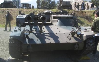 60式自走106mm無反動砲106SP小松製作所60式26口径106mm無反動砲×2普通科連隊陸上自衛隊東富士演習場