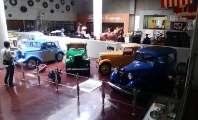 河口湖自動車博物館飛行舘Kawaguchiko Motor Museum Kawaguchiko Fighter MuseumシトロエンCitroënモーリスガレージMGダットサンDatsunオオタ自動車工業Ohta JidoshaブガッテーBugattiロールスロイスRolls-Royceベンツ Mercedes-Benz山梨県南都留郡鳴沢村富士桜高原内