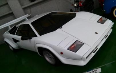 ランボルギーニ・カウンタックLP500S(5000S)Lamborghini CountachLP500SクワトロバルボーレQuatro Valvole(5000QV)河口湖自動車博物館飛行舘Kawaguchiko Motor Museum Kawaguchiko Fighter Museum