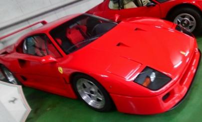 フェラーリF40 Ferrari F40 effe quaranta河口湖自動車博物館飛行舘Kawaguchiko Motor Museum Kawaguchiko Fighter Museum