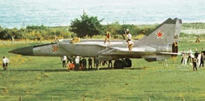 MiG-25ベレンコ中尉亡命事件