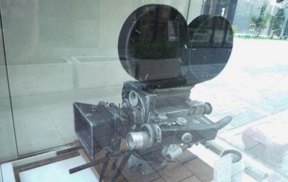 ミッチェルBNC型撮影機BNCブリンプト・ニュースリール・カメラMitchell Camera Corporation静岡県静岡市葵区七間町15静岡市文化・クリエイティブ産業振興センター(CCC)