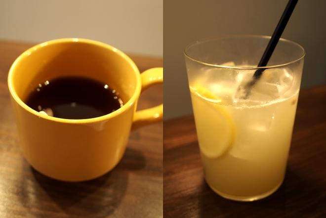 ベイクメルー コーヒーとジンジャーエール