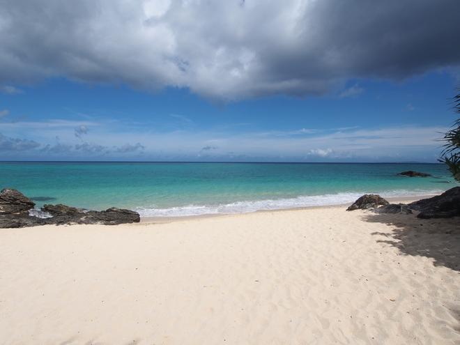 沖縄旅行2021年2日目 どこかのビーチ