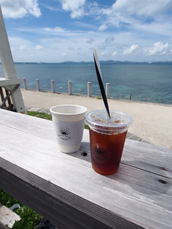 沖縄旅行2021 Sunstache Coffee