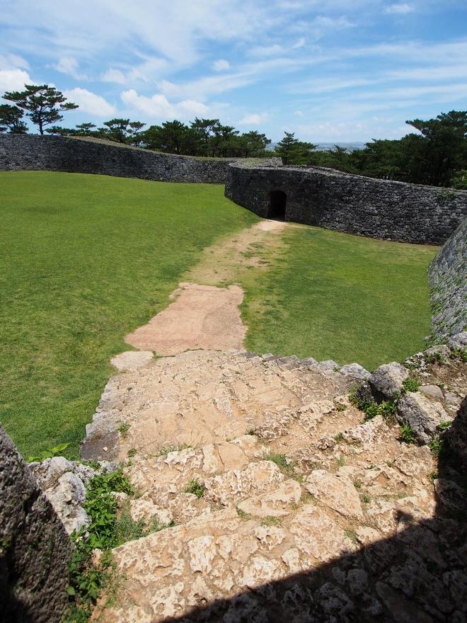 沖縄旅行2021年4日目 座喜味城跡