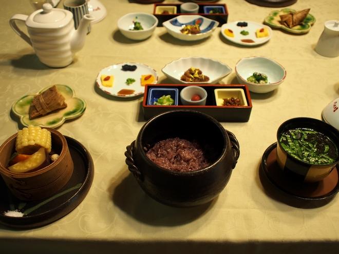 はづ木 朝食