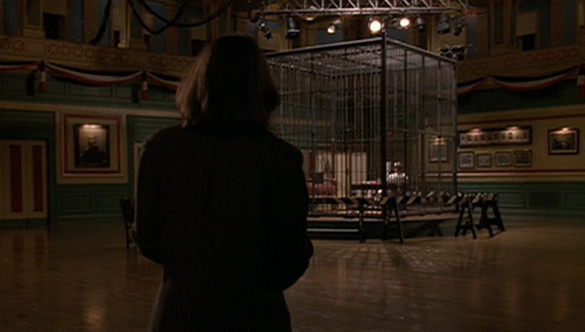 The Silence of the Lambs cage