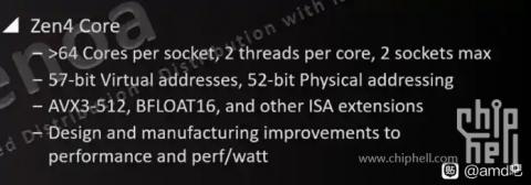 AMD Zen 4 AVX-512 (2021年3月1日)