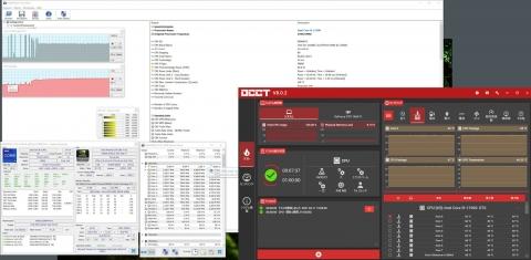 Core i9 11900 OCCT 調整後 (2021年4月11日)