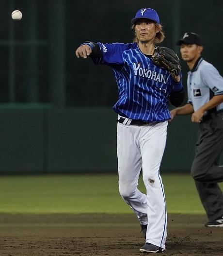 2021年5月11日ベイスターズ時代の石川雄洋選手