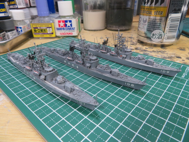 1/700  むらさめ型護衛艦(初代) の2