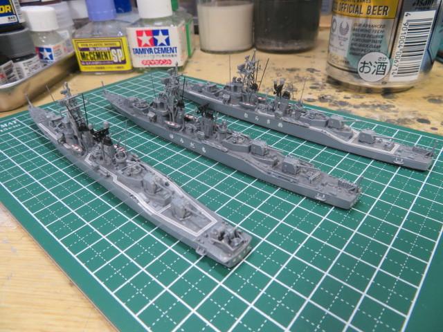 1/700  むらさめ型護衛艦(初代) の3