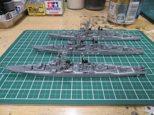 1/700  むらさめ型護衛艦(初代) の4