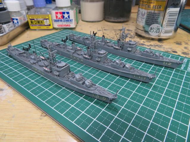 1/700  あやなみ後期型護衛艦 の2